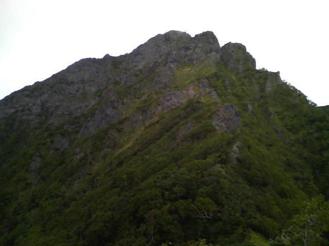 阿弥陀岳南稜の核心部へ